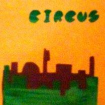 Flange Circus screen print